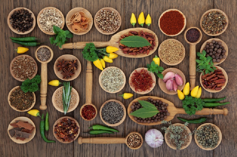 spices and chiles