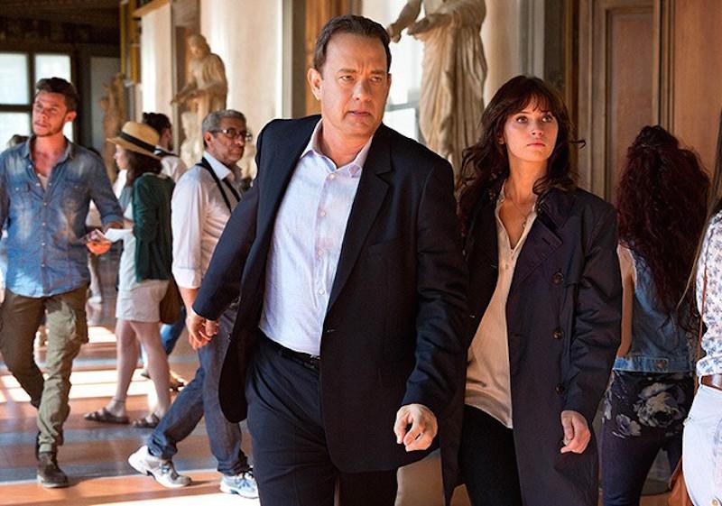 Tom Hanks, Felicity Jones in Inferno   Columbia Pictures