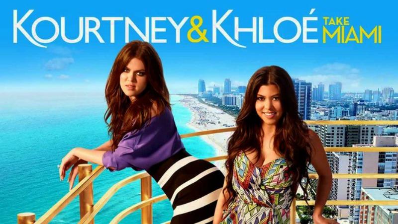 Kourtney & Khloé Take Miami