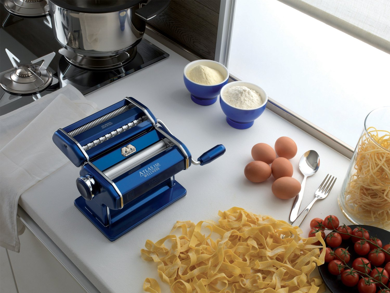 Marcato Atlas 150 Pasta Maker is one of the best pasta gadgets