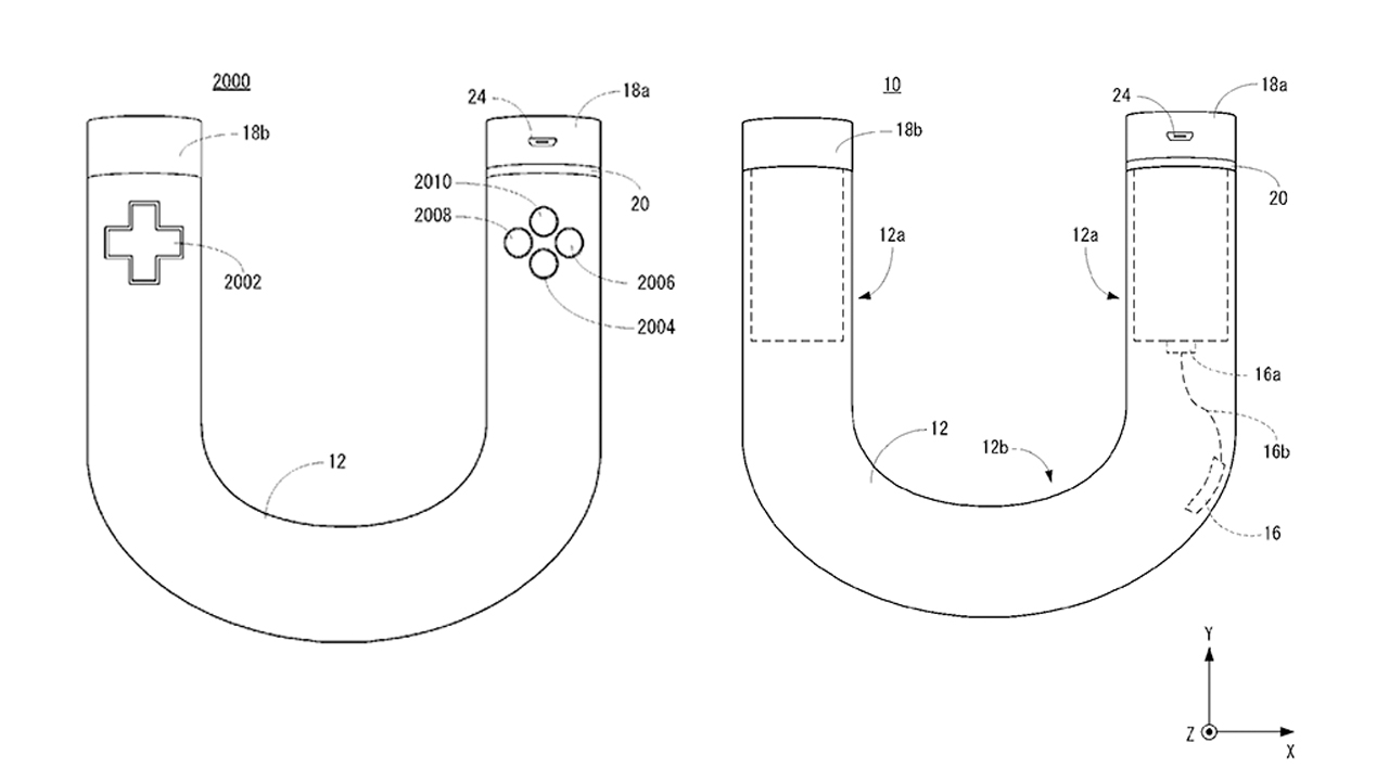 A new Nintendo controller patent application.