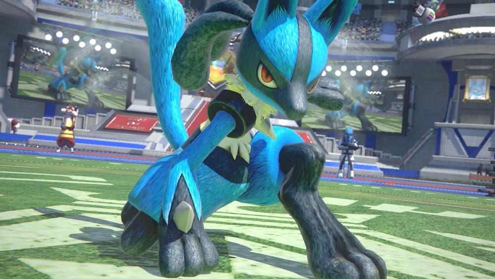 A screenshot from Pokken Tournament