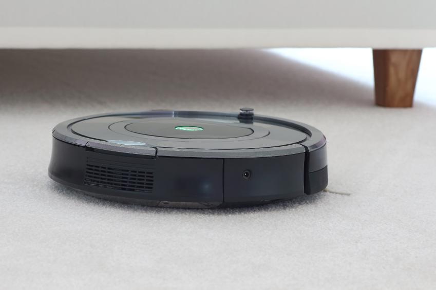 robot on carpet