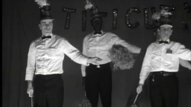 Patients at the Bridgewater State Hospital perform a musical number in a scene from the documentary <em>Titicut Follies</em>., documentaries