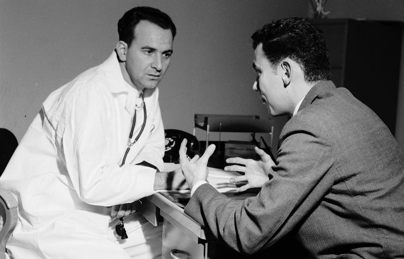 A patient describes strange sensations to his doctor