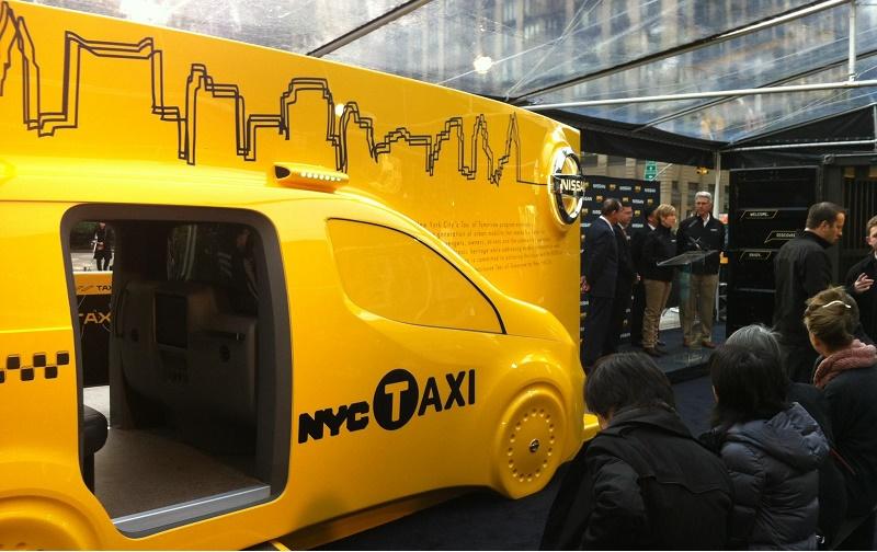 Taxi of Tomorrow design