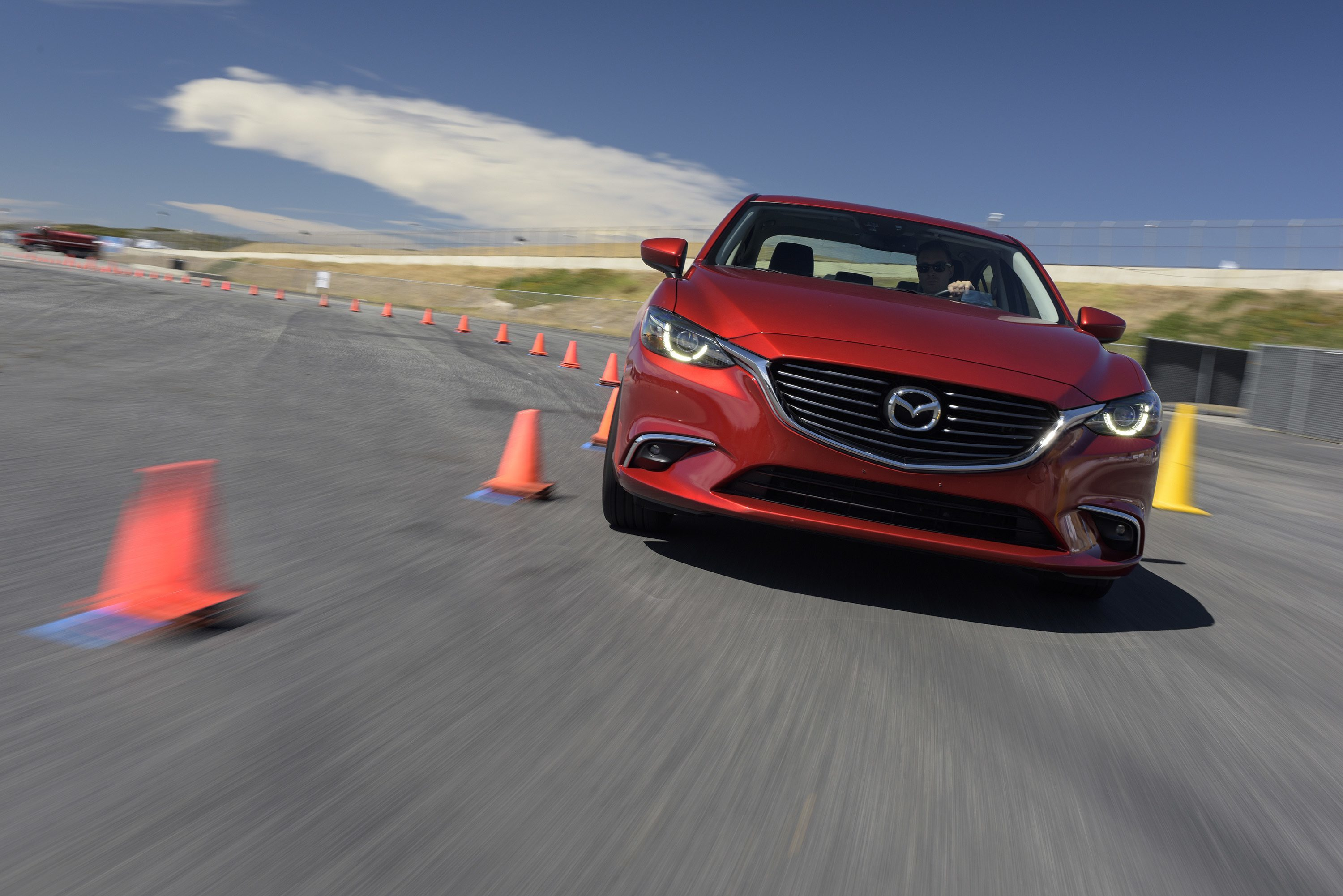 2016 Mazda6 with G-Vectoring