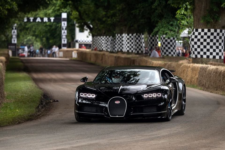 2017 Bugatti Chiron at the Goodwood Festival of Speed