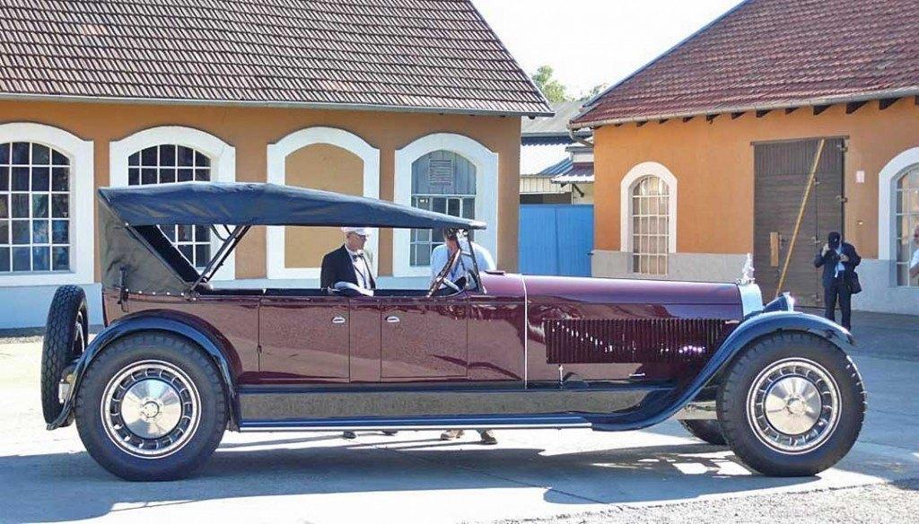 1926 Bugatti Royale Torpedo Packard Prototype, re-created