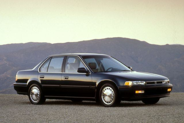 1991 fourth-generation CB7 Honda Accord