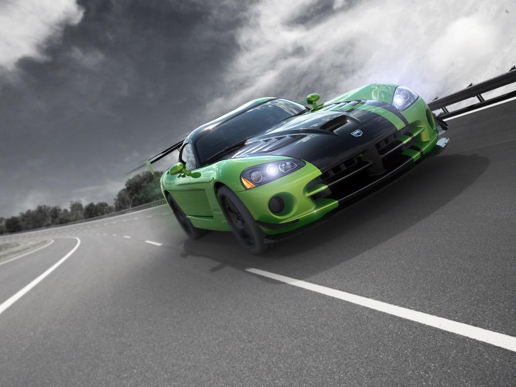 2010 Snakeskin Green Viper