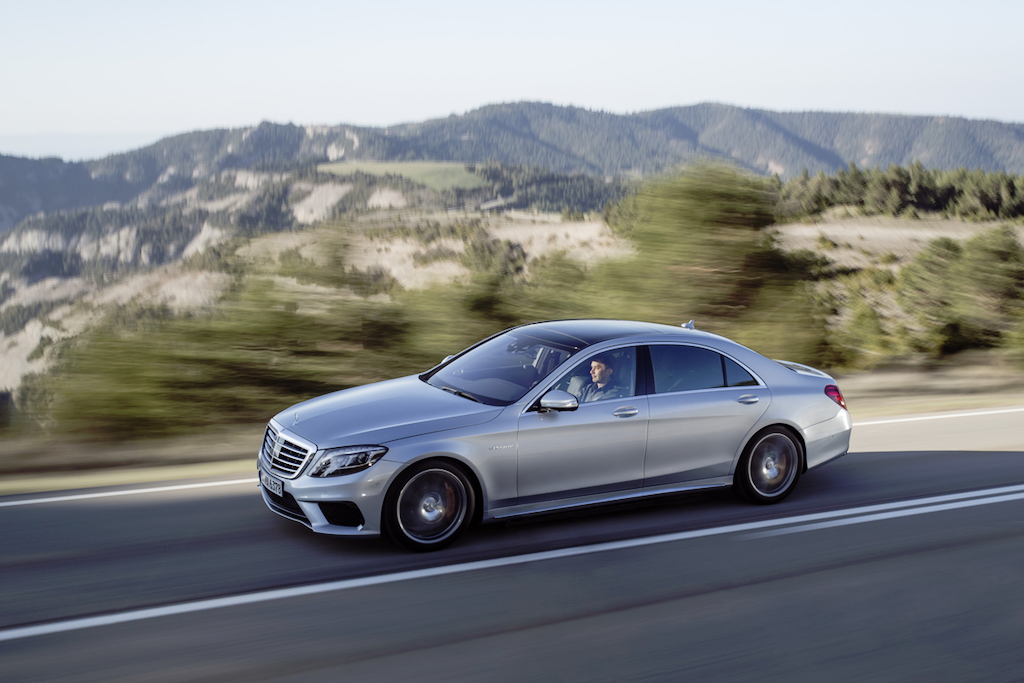Mercedes S63 AMG 4Matic
