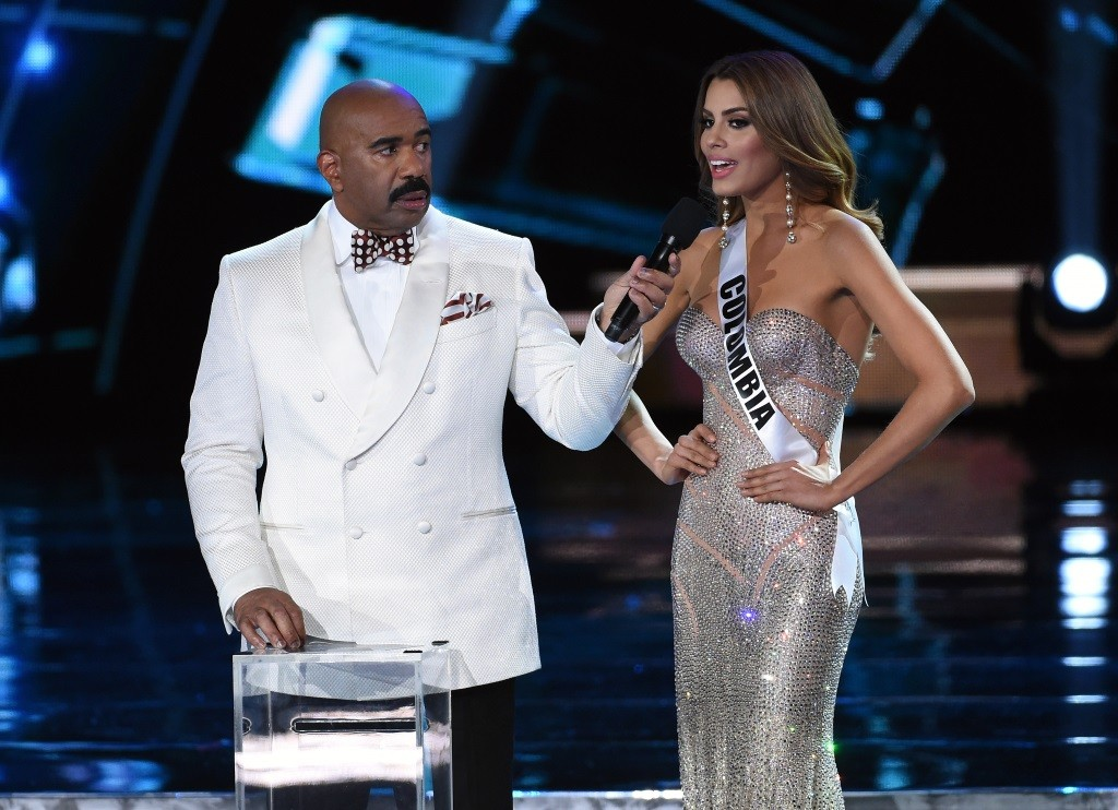 Miss Universe Pageant, Steve Harvey