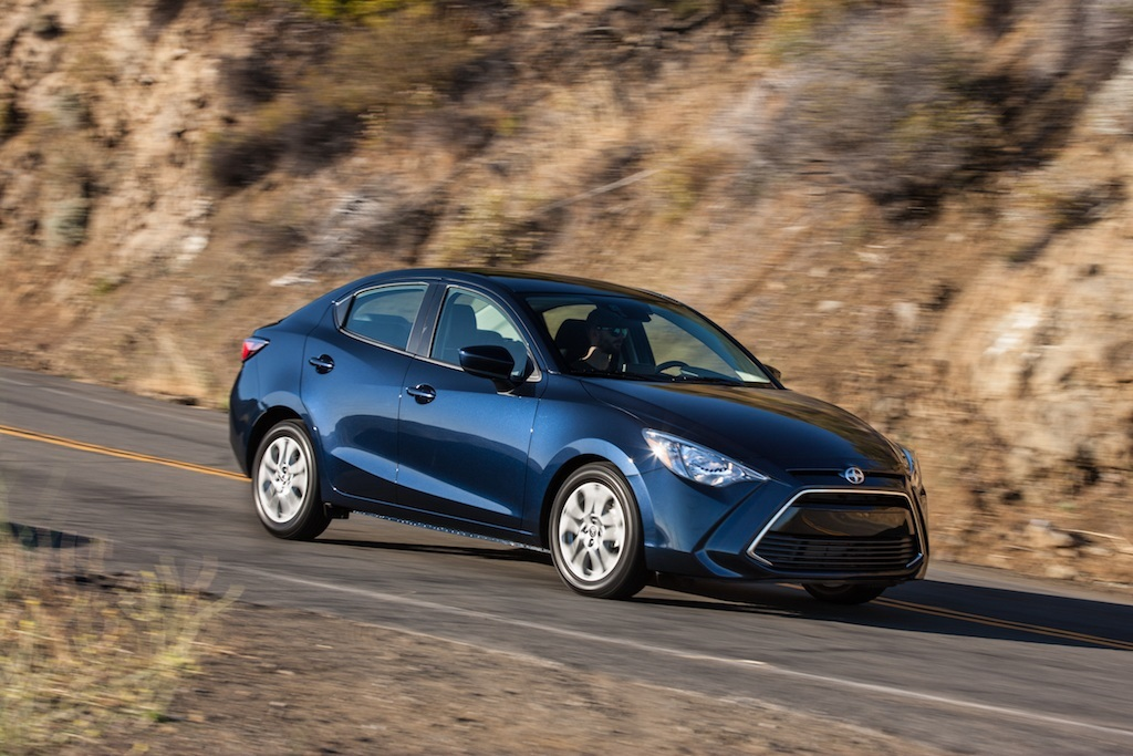 2016 Scion iA Toyota Yaris iA
