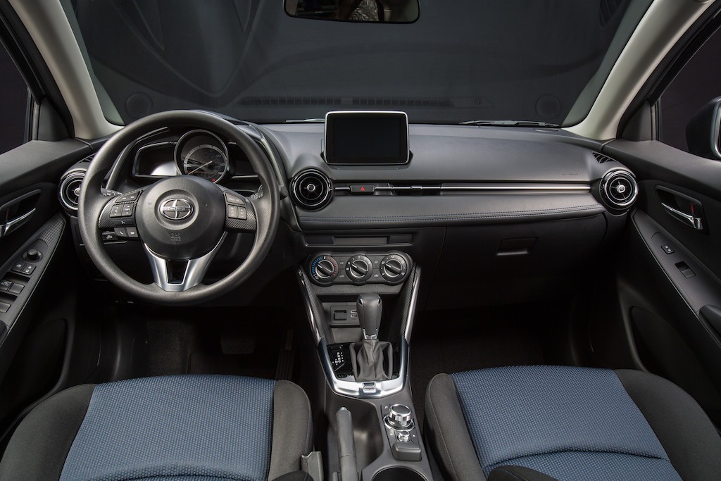2016 Scion iA/2017 Toyota Yaris iA interior