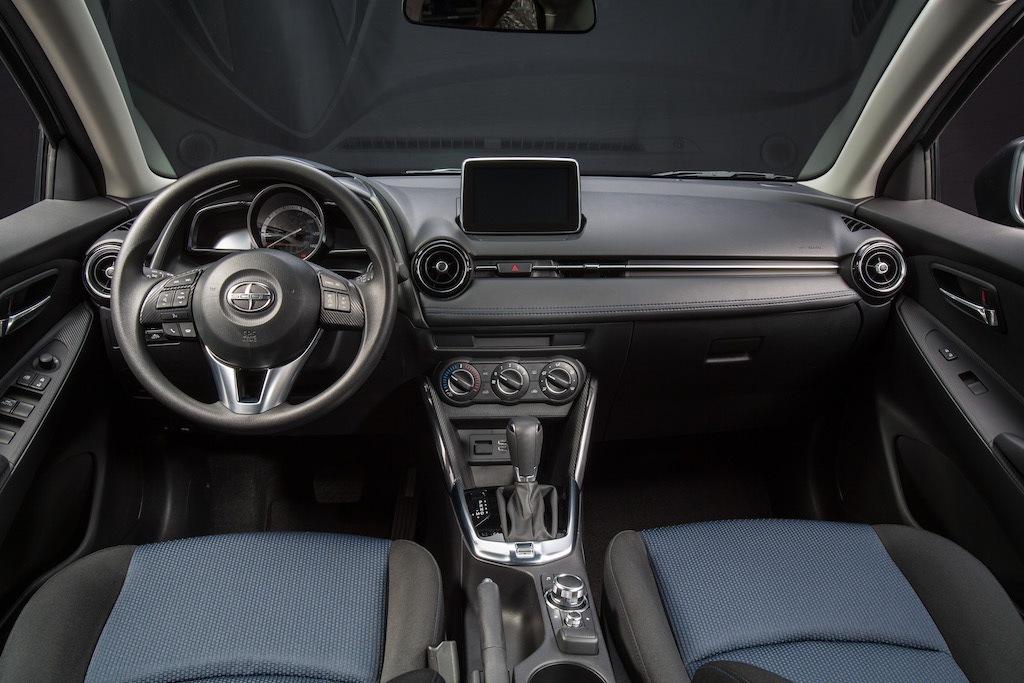 2016 Scion iA/2017 Toyota Yaris iA interior