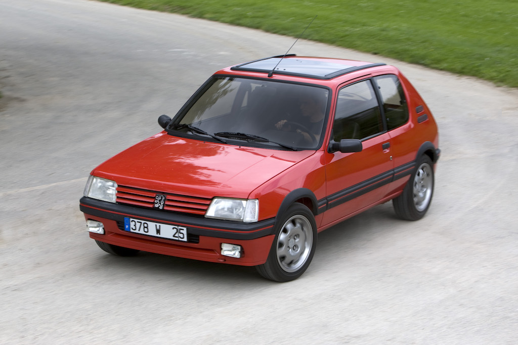 peugeot 205 gti the other great gti. Black Bedroom Furniture Sets. Home Design Ideas
