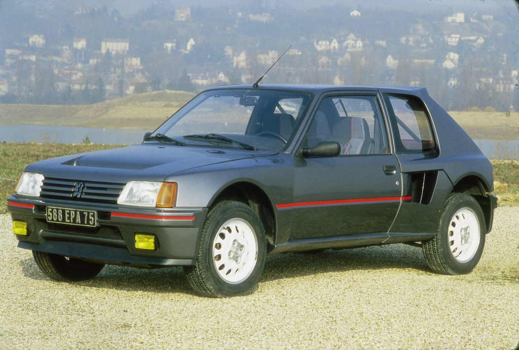 peugeot 205 gti: the other great gti