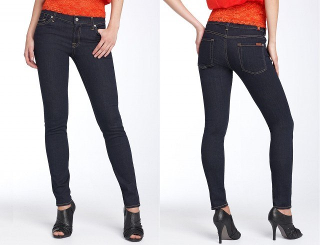 7 For All Mankind 'The Skinny' - lightweight jeans