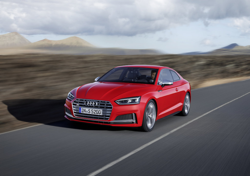 Audi A5 and S5 coupes