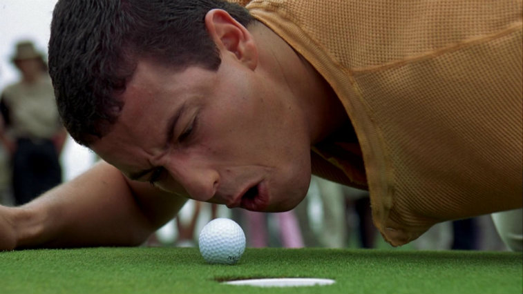 Adam Sandler in Happy Gilmore, best movies of 1996