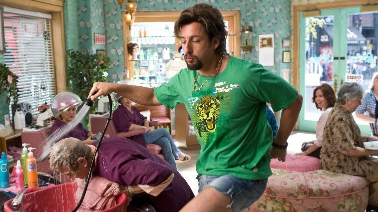 Adam Sandler in You Don't Mess with the Zohan
