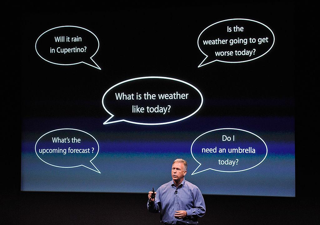 Phil Schiller discusses Siri