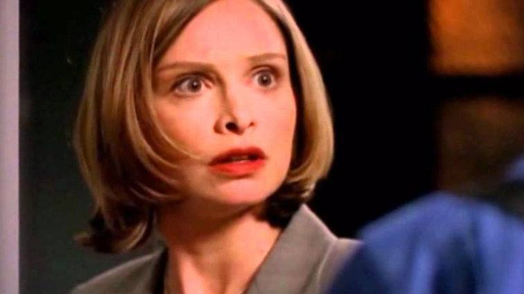 Calista Flockhart in Ally McBeal