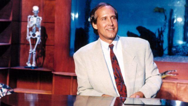 Chevy Chase on 'The Chevy Chase Show'.