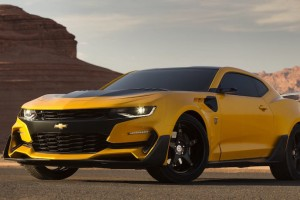 Michael Bay Reveals 'Transformers: The Last Knight' Chevy Camaro