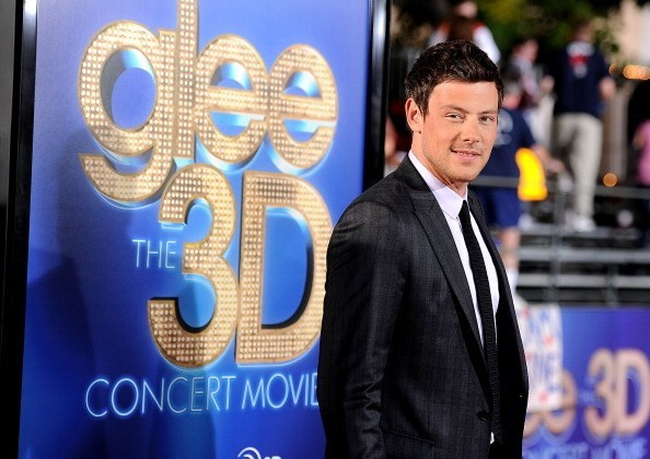 "Cory Monteith at premiere of ""Glee The 3D Concert Movie"""