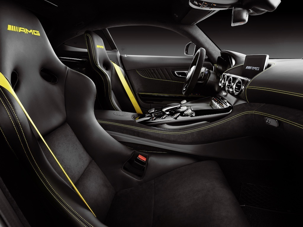Mercedes-Benz AMG GT R interior