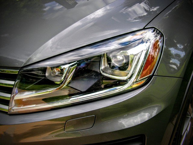 VW headlights