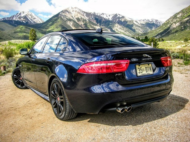 Jaguar XE in the Colorado Rockies