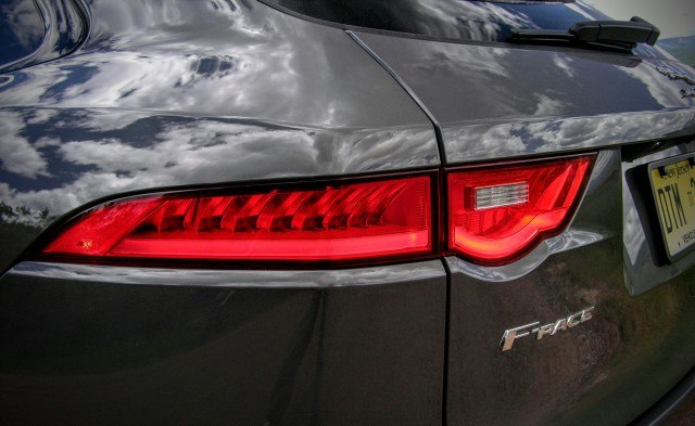 F-Type LED taillights