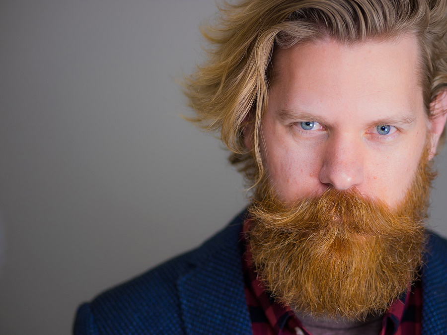 A beard: proven productivity hack