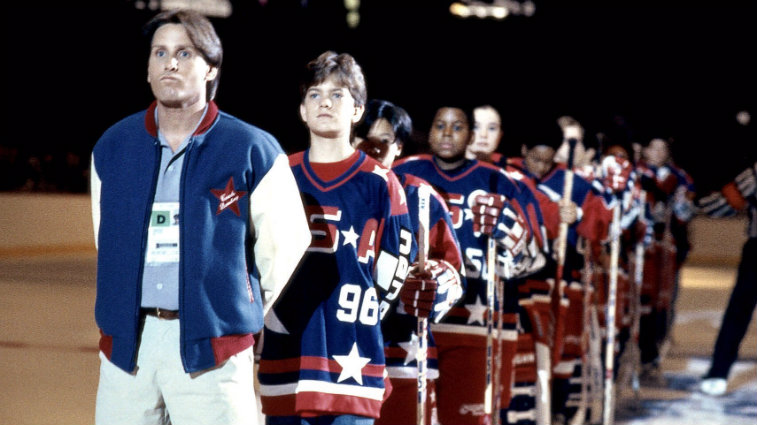 Emilio Estevez in D2 The Mighty Ducks