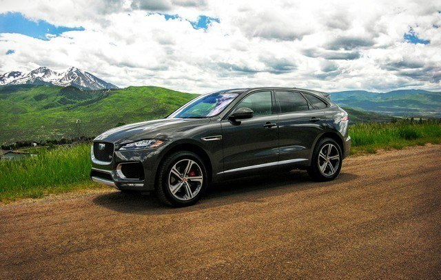 Jaguar's Supercharged F-Pace Sport crossover in Aspen