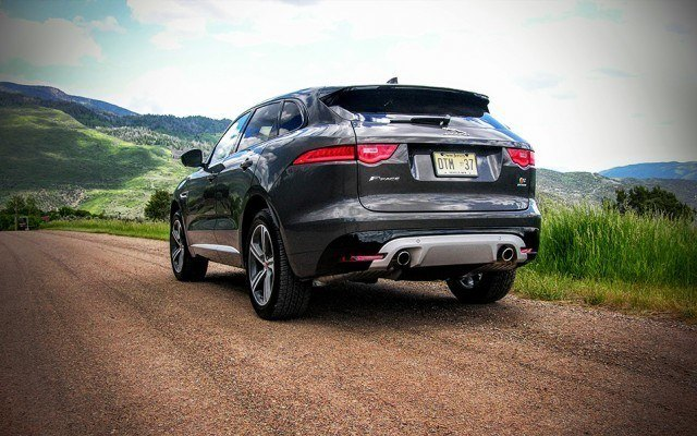 2017 Jaguar F-Pace supercharged CUV