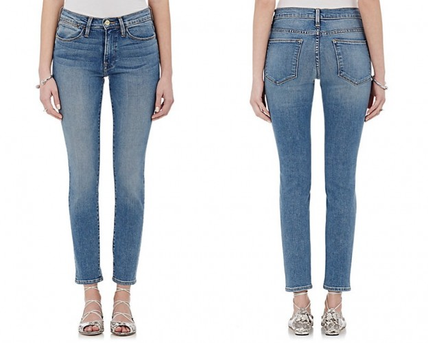 FRAME Le High skinny jeans - lightweight jeans