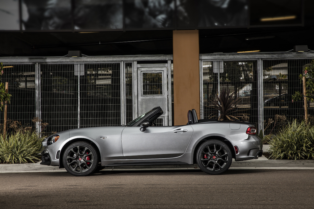 June 2016 gearopen page 11 the 124 and miata use the same platform and have the same 909 inch wheelbase but the design of the 124 makes it five inches longer overall fandeluxe Choice Image
