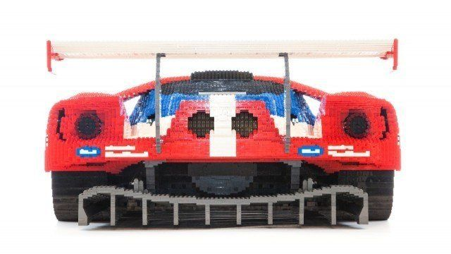 Custom LEGO race car