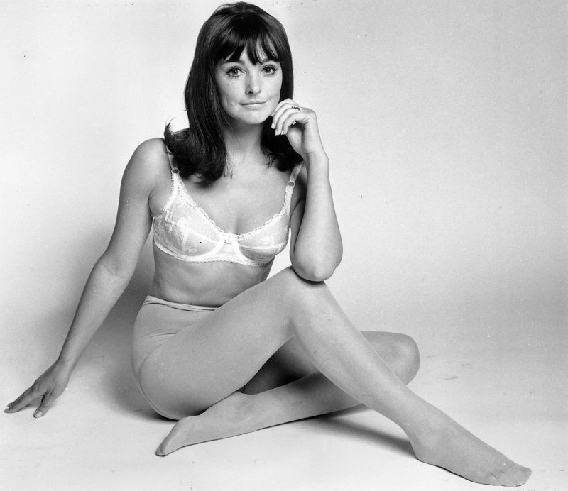 7th May 1969: A model wearing a Berlei bra.