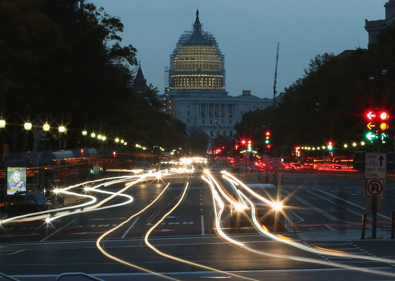 Early morning in Washington, home of the federal government and Craigslist Washington D.C.   Mark Wilson/Getty Images