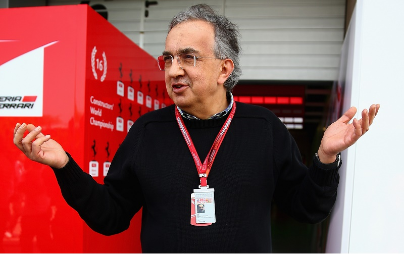 Sergio Marchionne, CEO of FIAT and Chairman of Ferrari ahead of the Formula One Grand Prix of China at Shanghai International Circuit on April 17, 2016 in Shanghai, China.