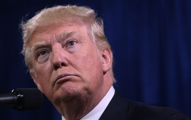 Donald Trump Attends Petroleum Conference In North Dakota