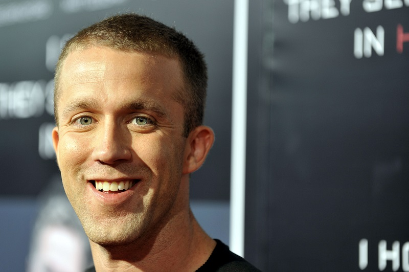 """Tucker Max attends the premiere of """"I Hope They Serve Beer In Hell"""" in 2009 