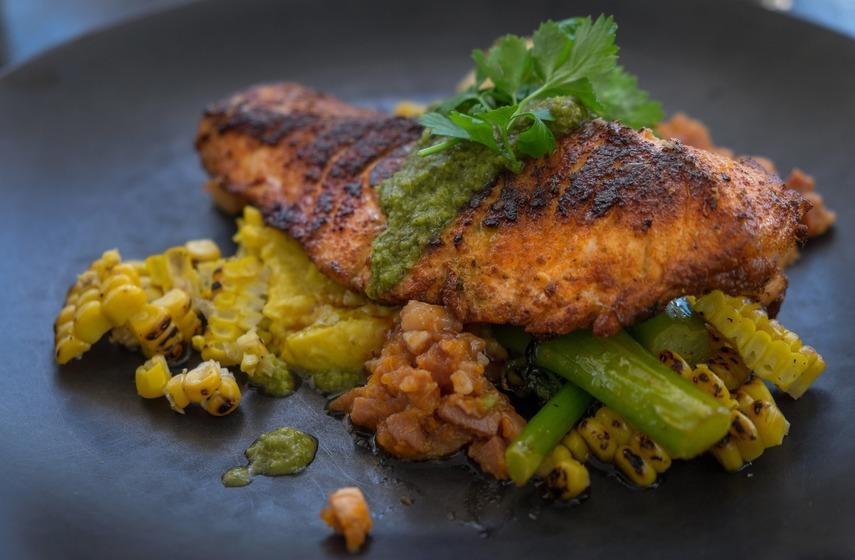 Grilled Cajun Salmon recipe