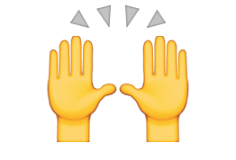 Image result for hand emoji two