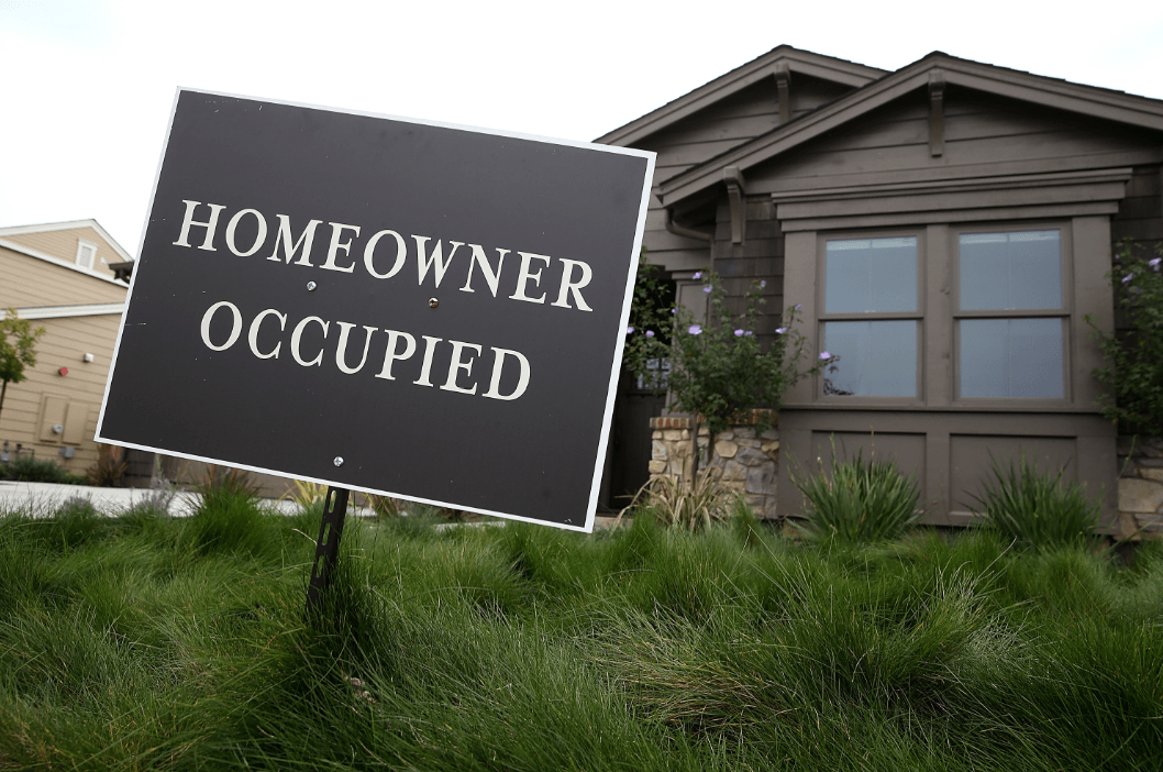 Homeowner occupied house